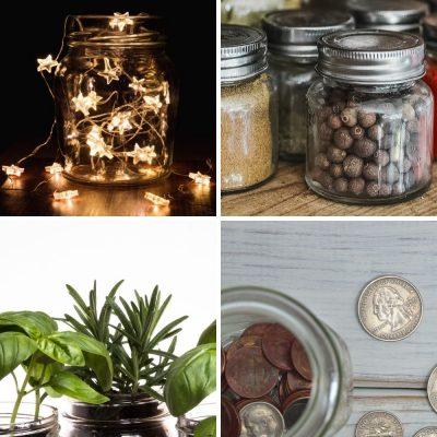 10 Creative Ideas for Mason Jars