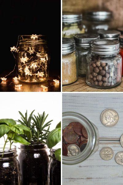 creative ideas for mason jars