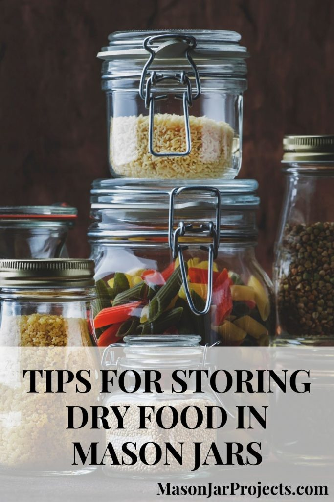 mason jar food storage