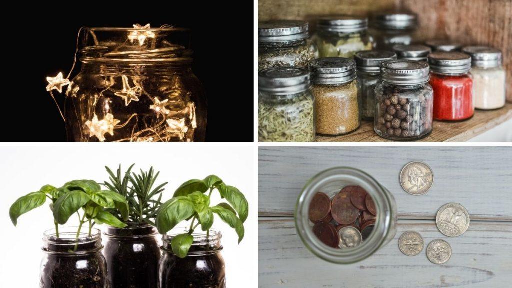 mason jars uses