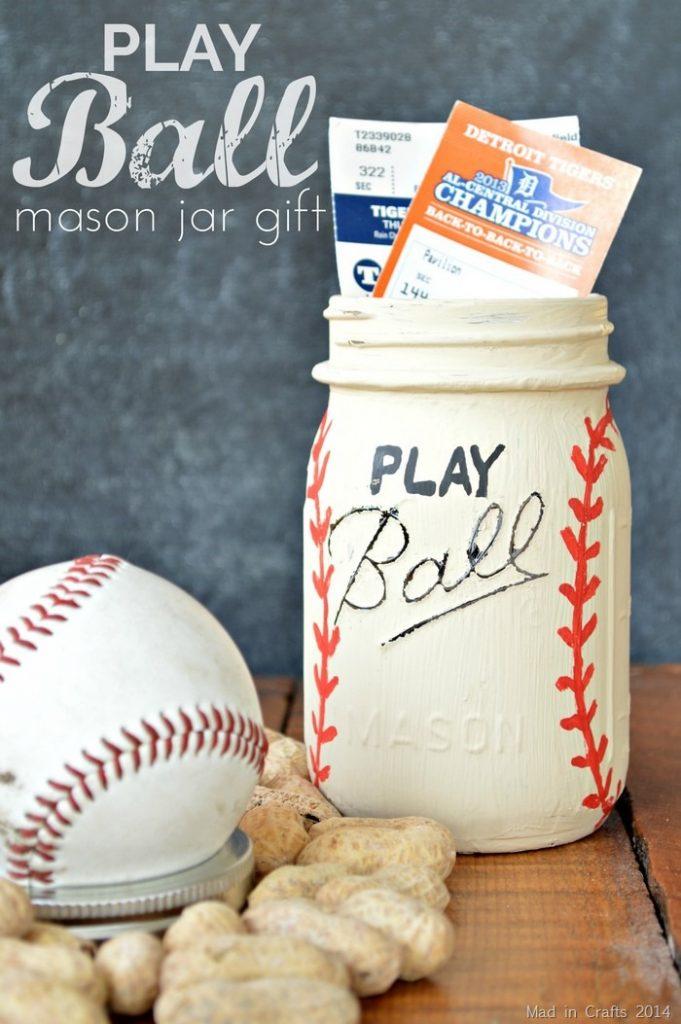 mason jar baseball