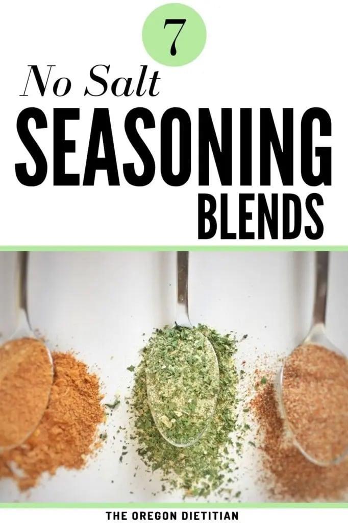 homemade salt free seasoning blend