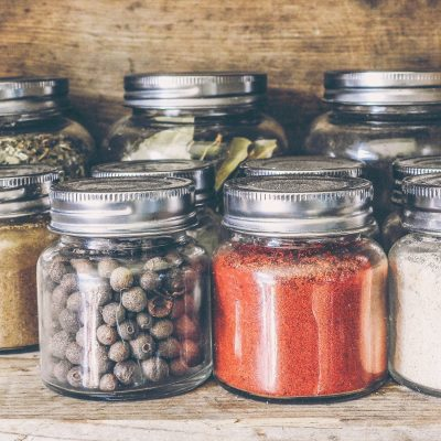 Mason Jar Spice Organization – Perfect for Bulk Spices and Homemade Blends