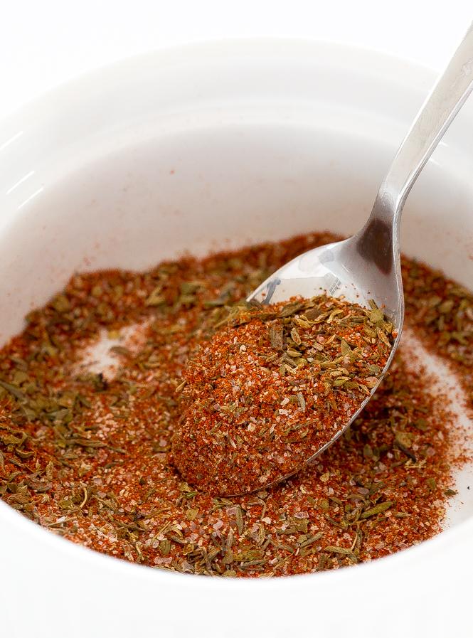 simple homemade Cajun seasoning blend