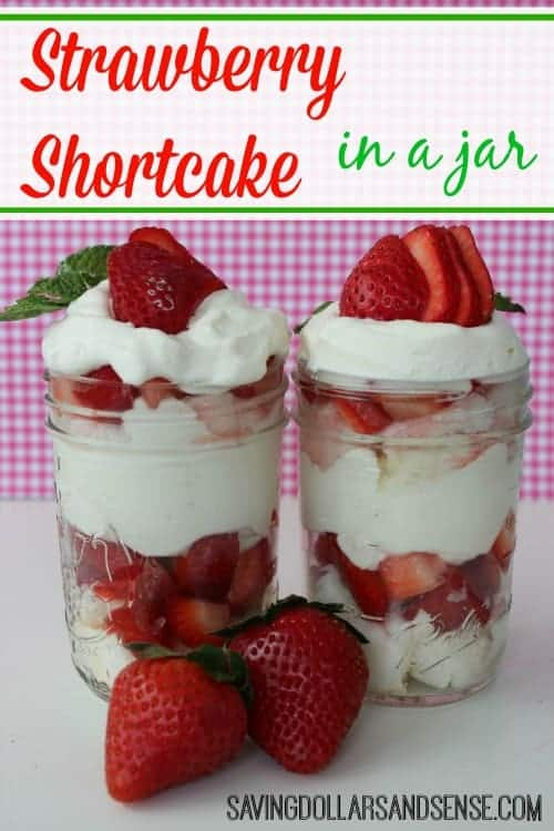 strawberry shortcake mason jar recipe