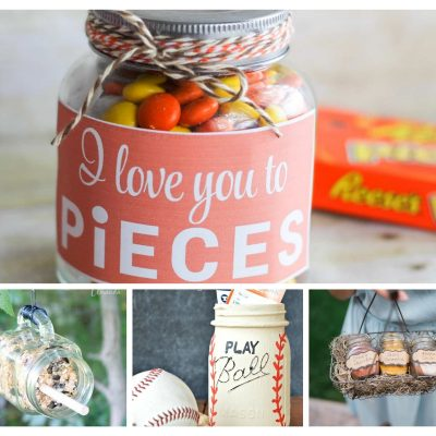 12 Fun and Unique Father's Day Crafts Using Mason Jars