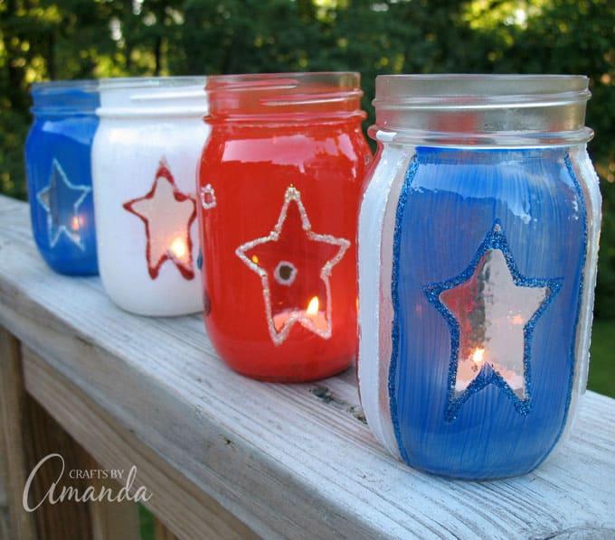 4th of July luminaries