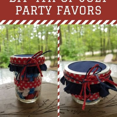 Easy DIY 4th of July Party Favors