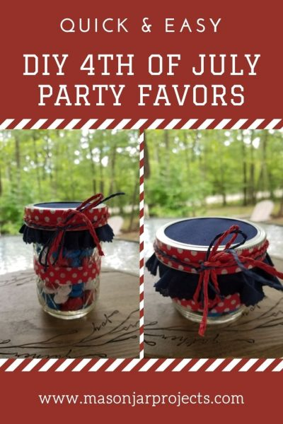 DIY 4th of July party favors