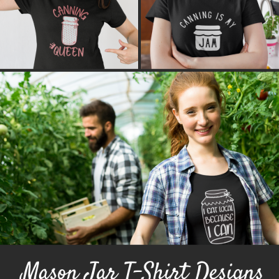 Mason Jar T-Shirts for Canners