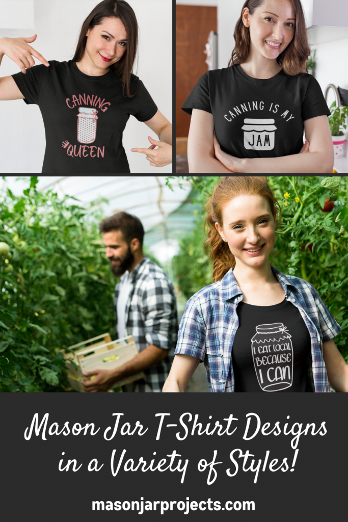 mason jar t-shirt designs